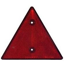 Atspindys trikampio formos 16cm be varžtų