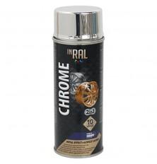 INRAL Chrome ,sidabr.lakas 400ml,aeroz,akrilinis