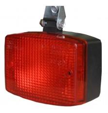 Žibintas papildomas raudonas 105x75x55mm