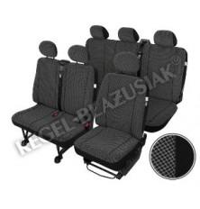 "Sėdynių užvalkalai 9vt.""Prestige Jaguard""-Renault Trafic,OPEL VIVARO,NISSAN PRIMASTAR"