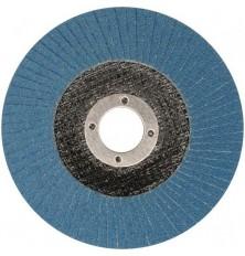 Šlifavimo diskas lapelinis išgaubtos formos PU40 125x22.2mmZIRCONIUM INBOX