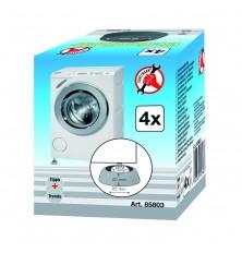 Kojelės antivibracinės skalbimo mašinoms 4 vnt.