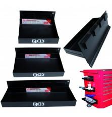 Lentynos magnetinės įrankių vežimėliams (3vnt.,150mm-210mm-310mm