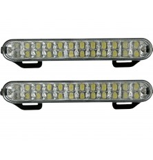 Žibintai LED dienos šv.12V 2vnt.x24LED
