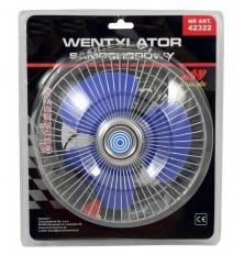 Ventiliatorius automob.salonui 12V (metalo korp)