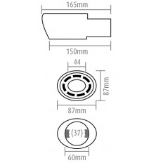 Antgalis duslintuvui (155x85x81)