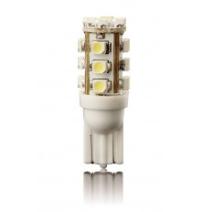 LED Lemputė 2vnt. automobilinė 12V 5W T10 16led