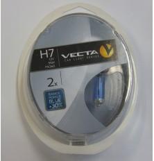 Lemputės H4 Vecta patiprintos +30%melsvos 2vnt