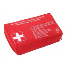 Vaistinėlė automobiliui (europinė sudėtis)raudona sp