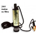 Siurblys degalų 24V mažas su filtru