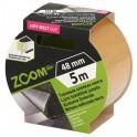 Juosta dvipusė tekstilinė 48mm x5m ZOOM