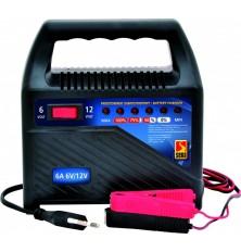 Pakrovėjas akumuliatoriui skaitmeninis 4,2A 6V,12V DC. 1.2Ah-95Ah