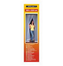Tinklelis durims nuo uodų 100cmx220cm baltas(4 dalių)