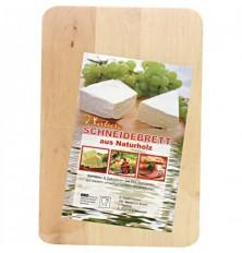 Virtuvinė pjaustymo lentelė 22x15x1cm medinė