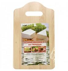 Virtuvinė pjaustymo lentelė 25x15x1cm medinė