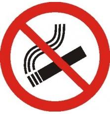 Lipdukas Rūkyti draudžiama150x150mm