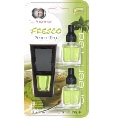 Gaiviklis auto FRESCO 1+2papildymai (3x8ml) GREEN TEA