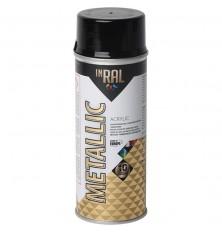Aerozolinis lakas akrilinis METALLIC ,grafito juoda 400ml