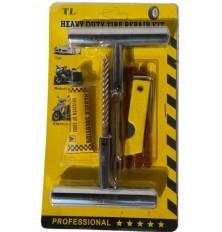 Įrankiai padangos remontui profi 9 vnt.