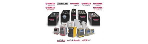 Hawker baterijos ir akumuliatoriai