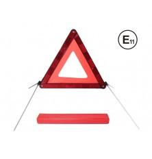 Avarinis trikampis kelio ženklas Euro E4