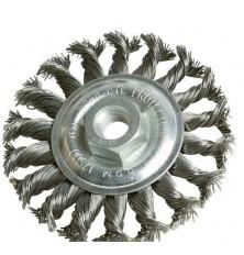 Šepetys disko tipo,stambus plienas 125x12xM14mm srieg.
