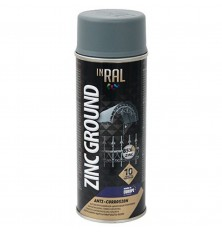 Gruntas aerozolinis,antikorozinis cinko INTRAL ZINC GROUND 400ml