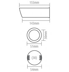 Antgalis duslintuvui (152x51x54)