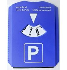 Parkavimo laikrodis - gremžtukas 15x12cm