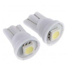 LED Lemputė 2vnt.  automobilinė 5W T10 12V