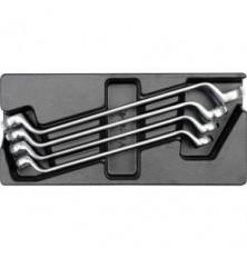 Įrankių rinkinys į vežimėlius-kilpiniai raktai 21-32 mm, 4vnt.