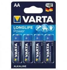 Baterija VARTA AA 4vnt  High Energy Alkaline