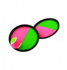 Žaidimas-kamuoliukas su dviem gaudyklėm