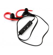 Ausinės su laikikliu ant ausų sportavimui kištukas jack 3.5mm