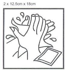 Servetėlė drėgna vienkartinė rankų valymui KOMPAKT 2vnt(12,5cmx18cm)