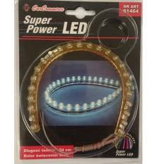Juostelė šviečianti LED (24cm ilgis balta sp. 1vnt.)