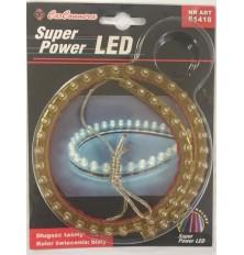 Juostelė šviečianti LED (48cm.ilgis balta sp. 1vnt.)