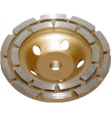 Deimant.puodo tipo šlifavimo diskas betonui 125xM14 2 eil.