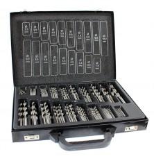 Grąžtų metalui komplektas | HSS | Ø 1 - 10 mm | 170 vnt