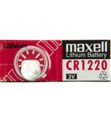 Baterijos elem.MAXELL CR1220 5vnt