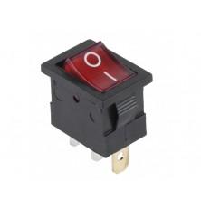 Jungtukas raudona sp.MK1011 230V su pašvietimu