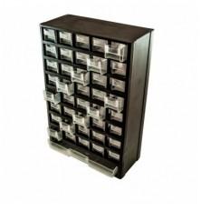 Dėžutė smulkmenom su stalčiukais 490mm x310mm plastikinė