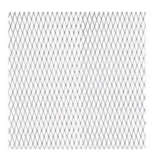 Grotelės sidabr 100x25cm 4x13mm