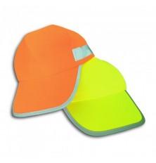 Kepurė vaikiška geltona šviesą atspindinti
