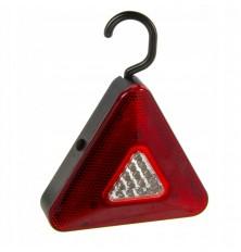 Trikampis įspėjamasis žibintas 39 LED