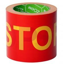"Juosta aptvėrimui ""STOP"" geltonos -raudonos sp. (10cmx100m.)"