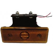 Žibintas galinis oranžinis LED 24V 110m x 40mm
