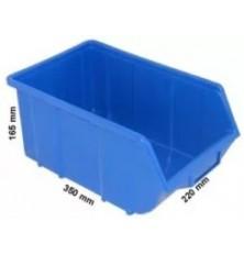 Dėžutė sandėliavimui mėlyna220x355x167mm