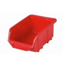 Dėžutė sandėliavimui raudona111x168x76mm