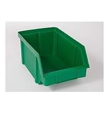 Dėžutė sandėliavimui žalia 111x168x76mm